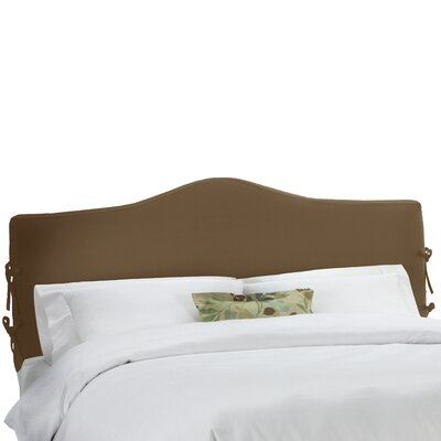 Carson Upholstered Panel Headboard Size: Queen