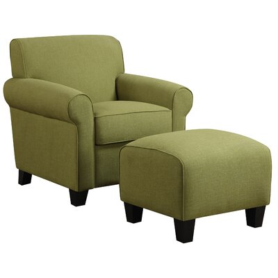 Oldbury Arm Chair Upholstrey: Green