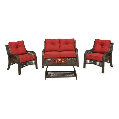 4-Piece Ensley Patio Seating Group