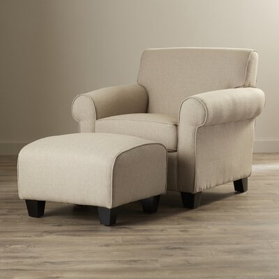 Oldbury Armchair Upholstery: Barley Tan