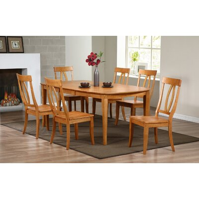 Garden Grove Extendable Dining Table Finish: Autumn