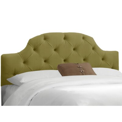 Upholstered Panel Headboard Upholstery: Premier Sage, Size: King