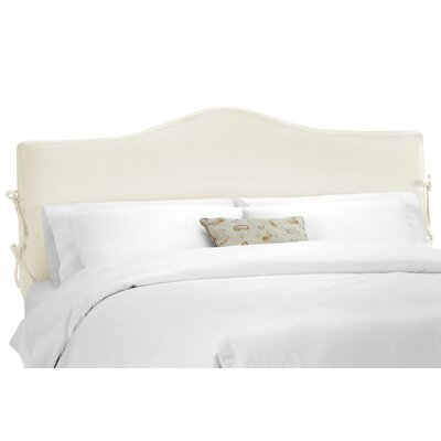 Crimmins Upholstered Panel Headboard Upholstery: Shantung Parchment, Size: California King