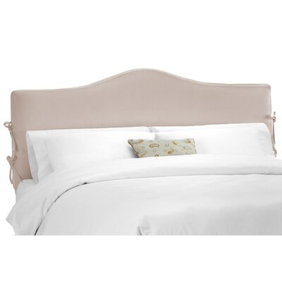 Crimmins Upholstered Panel Headboard Upholstery: Shantung Dove, Size: California King