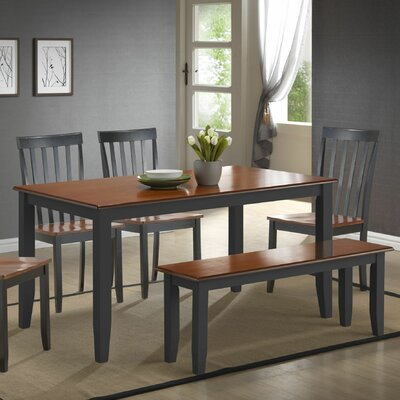 Hardcastle Traditional 6 Piece Dining Set