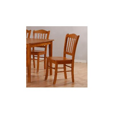 Windham Dining Chairs Finish: Oak