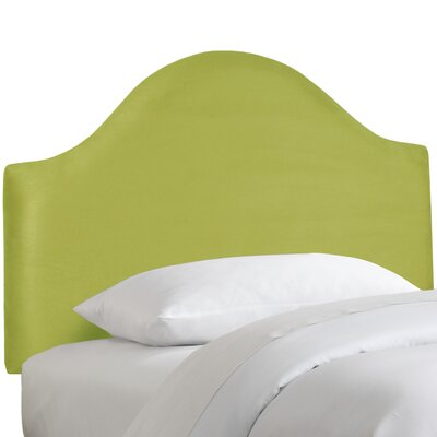 Premier Upholstered Panel Headboard Size: Twin, Color: Kiwi