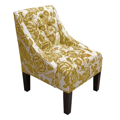 Mystere Armchair Upholstery: Canary Maize
