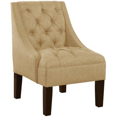 Mystere Armchair Upholstery: Linen Sandstone