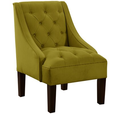 Mystere Tufted Swoop Arm Chair