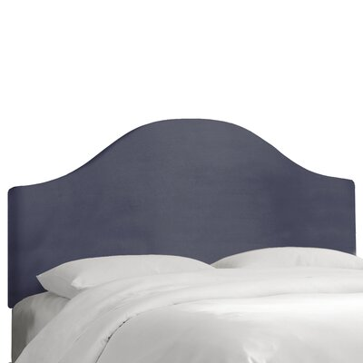 Regal Upholstered Panel Headboard Color: Ocean, Size: Queen