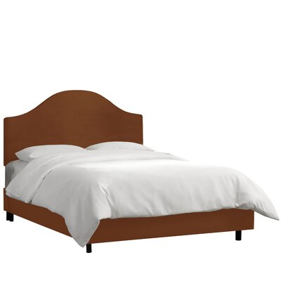 Bloomfield Upholstered Panel Bed Size: Queen, Upholstery: Chocolate