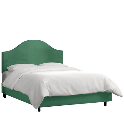 Bloomfield Upholstered Panel Bed Size: Queen, Upholstery: Laguna