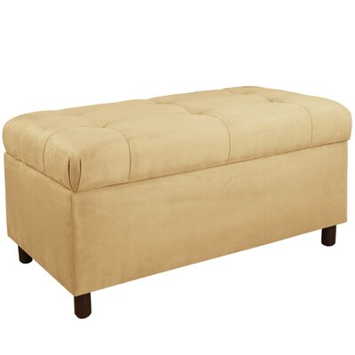 Upholstered Storage Bedroom Bench