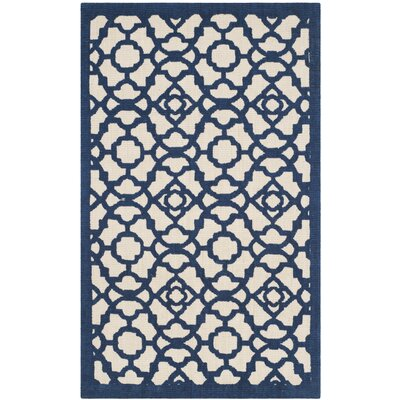 Quentin Road Ivory & Navy Area Rug