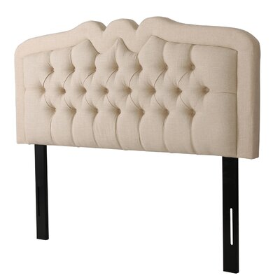 Williamsburg Upholstered Panel Headboard Size: King / California King