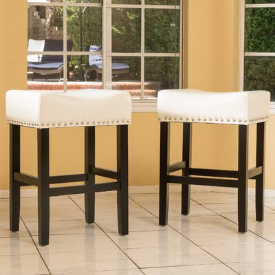 26 Bar Stool Color: Ivory