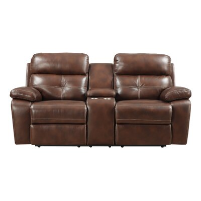 ALCT2500 25715208 ALCT2500 Alcott Hill Power Motion Console Reclining Loveseat