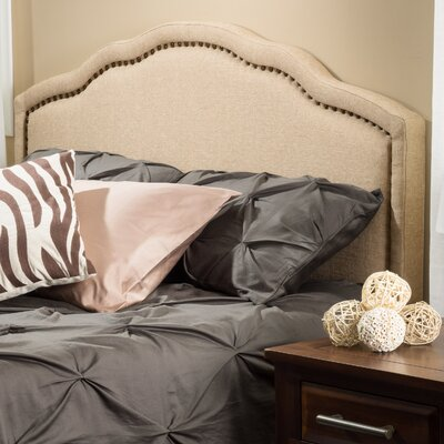 Alcott Hill Bolindale King Upholstered Panel Headboard