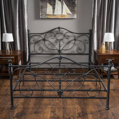 Rutland Platform Bed Color: Charcoal