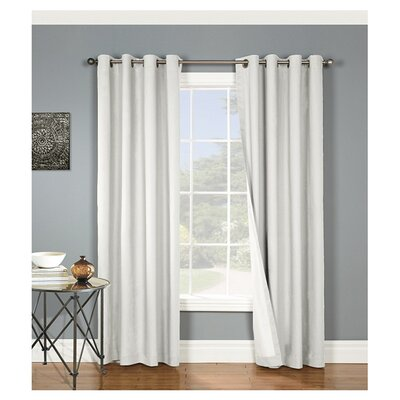 Alcott Hill Morrison Cotton Grommet Blackout Thermal Single Curtain Panel