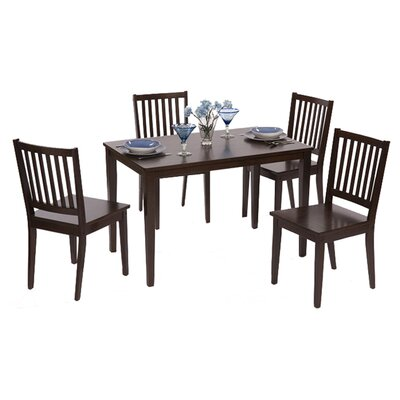 Windham 5 Piece Dining Set Finish Espresso