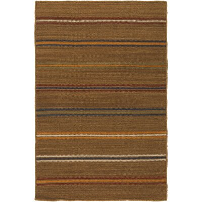 Nashville Hand-Woven Tan Area Rug Rug Size: Rectangle 9 x 13