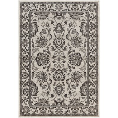 Canfield Gray Area Rug Rug Size: 54 x 78