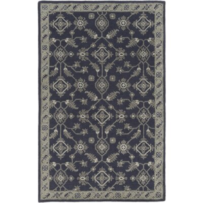 Langport Hand-Tufted Slate/Moss Area Rug Rug Size: 2 x 3