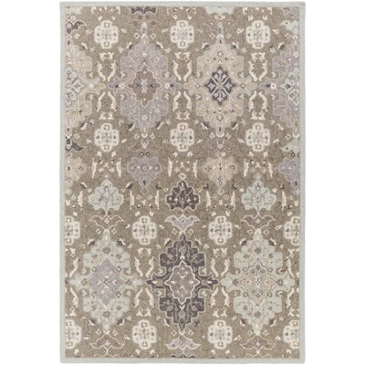 Pottershill Gray & Slate Area Rug Rug Size: Rectangle 9 x 13