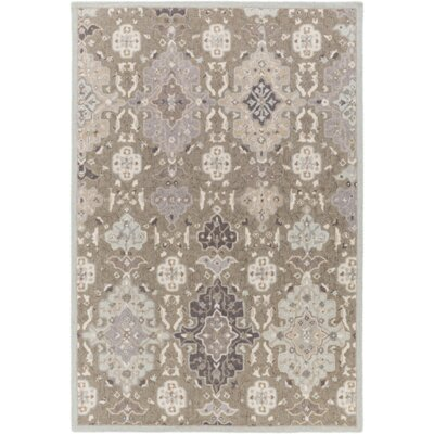 Pottershill Gray & Slate Area Rug Rug Size: Rectangle 5 x 76