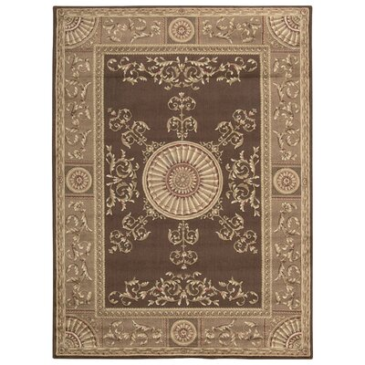Haydenville Brown Area Rug Rug Size: Rectangle 53 x 74