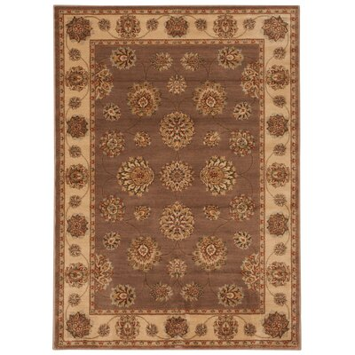Prestige Owensville Mocha Area Rug Rug Size: Rectangle 23 x 39