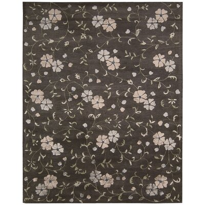 Highview Hand-Tufted Charcoal Area Rug Rug Size: 8 x 11