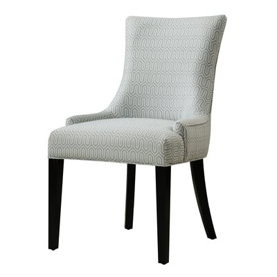 Geo Side Chair Upholstery: Gray