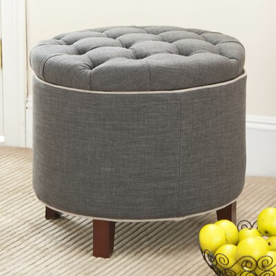Perrysburg Upholstered Storage Ottoman