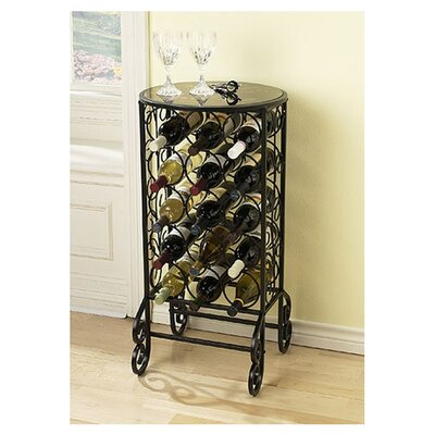 Fox 15 Bottle Floor Wine Rack