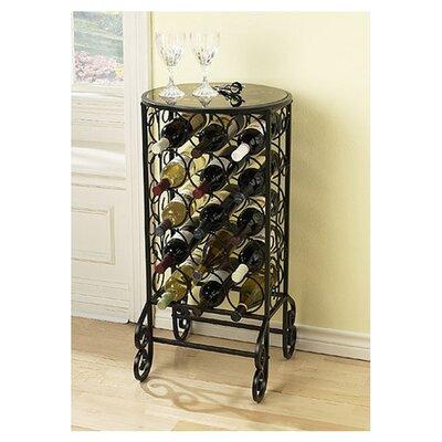 Fox 15 Bottle Floor Wine Rack