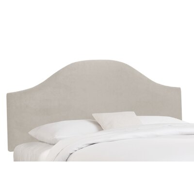 Mystere Upholstered Panel Headboard Size: Twin, Color: Dove