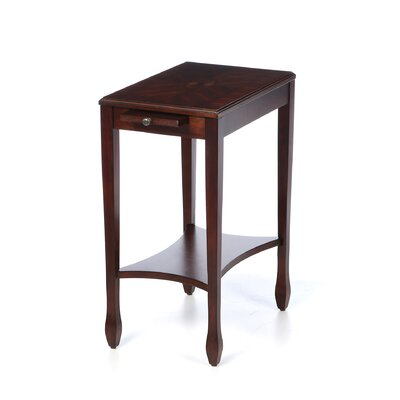 Stubbe End Table Color: Plantation Cherry