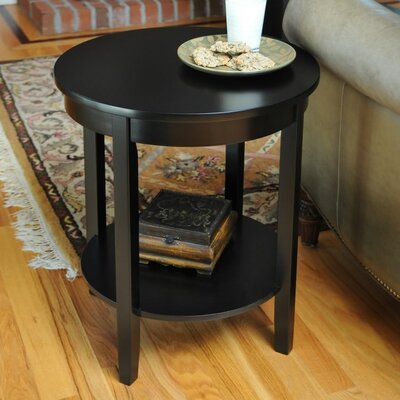 Chilton End Table Finish: Black