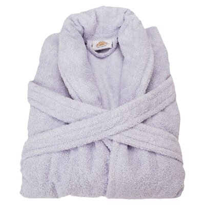 Patric Bathrobe Color: Lilac, Size: Medium