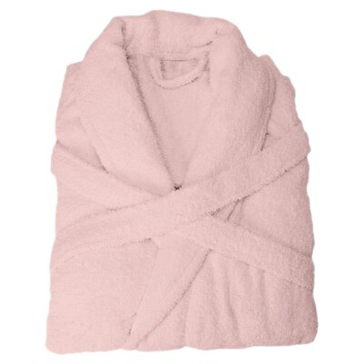 Superior Bathrobe Color: Pink, Size: Extra Large