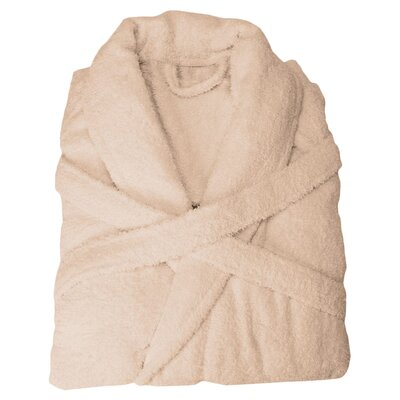 Patric Bathrobe Size: Medium, Color: Taupe