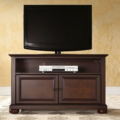 Claribel 42 TV Stand Color: Vintage Mahogany