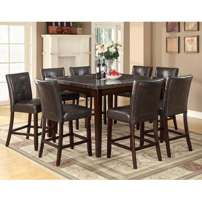 Cincinnati Counter Height Dining Table Finish Black