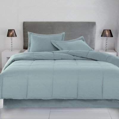 Syracuse Comforter Size: Full / Queen, Color: New Blue
