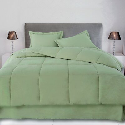 Syracuse Comforter Size: Full / Queen, Color: Sage