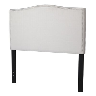 Driscoll Queen Upholstered Panel Headboard Upholstery: Light Grey