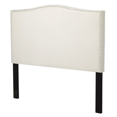 Driscoll Queen Upholstered Panel Headboard Upholstery: Ivory
